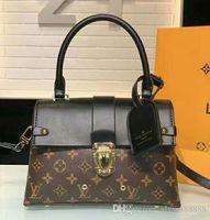 Wholesale messenger bag two straps resale online - Women messenger bag Classic Style Fashion bags women bag Shoulder Bags Lady Totes handbags cm With Shoulder Strap Dust Bag