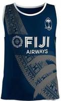 roupa da liga venda por atacado-2019 2020 nova Fiji Rugby Jerseys Singlet 19 20 Camisa League jersey FIJI colete roupa ocasional s-3xl