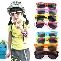 Wholesale nails girls for sale - Group buy Kids Rice Nail Sunglasses Colors Girls Boys Sun Glasses Outdoor Sports Summer Beach Eyewear OOA7052