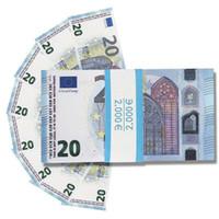 Wholesale dollar toys for sale - Group buy Prop euro Money Fake Euros dollar Fake Money counting Kids money for movie film video eParcel