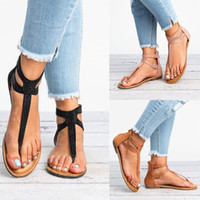 Wholesale women diamond open toe heels for sale - Group buy New Womens Summer Diamond Open Toe Sandals Thong Flats Back Zipper Ladies Beach Comfy Shoes