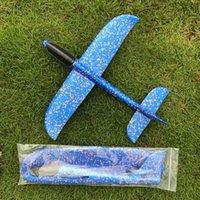 ingrosso schiuma magica dei bambini-Creative Kids Toy Magic Roundabout Aerei da combattimento Schiuma Aeroplano di carta mano di modello Lancia Volante Glider Planes giocattoli per i bambini