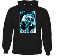 Wholesale o camera resale online - Death Ray Vision Mens Funny Photography Hoodie Skull Photographer Camera Top