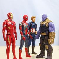 figuras de ação de filme de brinquedo venda por atacado-nova Avengers chegada 3 Marvel filmes Figuras de Ação Hulk Thanos Hulkbuster Atividade bonecas modelo brinquedos dos miúdos