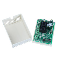ingrosso iptv set top box-433Mhz interruttore wireless RF DC12V trasmettitore relè modulo ricevente e 433 MHz telecomandi per DC