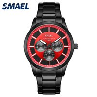 Wholesale watch military army automatic for sale - Group buy SMAEL Brand Fashion Men Luxury Quartz Wristwatches Military Watch Army Digital Clock Man Automatic Sport Watches Waterproo