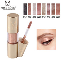 ingrosso perle liquide-MISS ROSE Cylindrical Jin Cong Eyeliner Bling Jin Cong Eye Shadow Pearl Liquid Eyeshadow Bright Eyeshadow Liquid