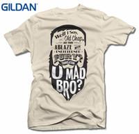 ingrosso vecchia barba-Maglietta da uomo Cheap Sale 100% Cotton Well I Say Old Chap U Maglietta da uomo Bro Beard T-shirt da uomo (6 once)