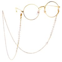 Wholesale neck cord glasses holder for sale - Group buy Metal Glass Chains Eyewears Sunglasses Reading Glasses Chain Cord Holder Neck Strap Rope Women s Eyewear Accessories
