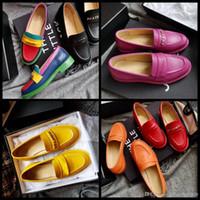 ingrosso migliori scarpe sexy donna-vendita 2019 casual scarpe firmate sexy in vera pelle migliori scarpe di alta qualità sneaker pantofole sandali décolleté mocassini donna mocassino piatto