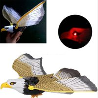 Wholesale eagle wing toys for sale - Group buy Electric Flying Birds Toy Eagle Call Hanging Wire Flapping Spread Wing Electric Eagle Sling Hovering Hawk Birds Kids Gifts