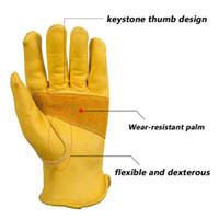 мото гоночные перчатки оптовых-Модные кожаные перчатки из натуральной воловьей кожи для мотоциклистов