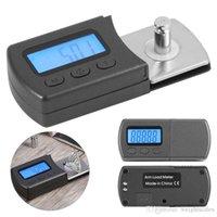 Wholesale digital manometer resale online - 5g g digital pocket scale Black rubber phonograph needle manometer Needle turntable needle pressure poundsJewelry Scale