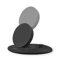 хорошие держатели для телефона оптовых-Savorigroup S5 для iPhone / Android / Samsung Хорошее качество телефона Поддержка Быстрая беспроводная зарядка Pad Держатель телефона