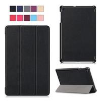 galaksi tabları deri çanta toptan satış-Vaka için Samsung Galaxy Tab 10.1 2019 - Prim PU Deri Standı Stylus Tutucu, Kartlar ile Kapak için Samsung 10.1 İnç Tablet (SM-T510 / T515)