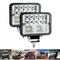 nebelscheinwerfer für boote groihandel-78W 26 LED Light Bar wasserdicht Flutlicht-Arbeits-Licht Flut-Lichtstrahl Nebelscheinwerfer Scheinwerfer für OffRoad Offroad Boots-Auto-Traktor-LKW