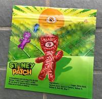 tanque de vape x8 venda por atacado-Aceitar OEM Personalizado STONEY PATCH embalagem Gummies Sacos À Prova de Olho Remendo Stoney Crianças Sour Patch Crianças Gummy Mylar sacos