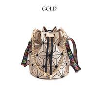 lazerler satışı toptan satış-Sıcak Satış Marka Tasarımcı Çanta Yeni Bao Bao Kadın Çantası Geometrik Çanta Ekose Zincir Omuz Crossbody çanta Lazer BaoBao Elmas Çanta