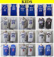 ed75b6c77 2019 Kids  21 Philadelphia Joel Embiid Ben Simmons Jimmy Butler 76ers  Basketball Jerseys Cheap Youth Allen Iverson Stitched Shirts S-XL