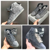 Wholesale black shining shoes for men for sale - Group buy 2019 New Arrival grey M Sports Shoes for men women Innovation Designer Mens Sneakers Women shine Ash skinning Sports Chaussures
