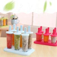 Wholesale ice cream cakes resale online - Creative Popsicle mold Multi styles ice cream mold DIY snow cake mold in summerIce cream tools T9I00317
