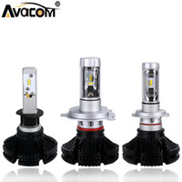 Wholesale headlamps assembly for sale - Group buy Avacom h4 LED H7 Car Headlight Bulbs H1 H3 H11 h8 X3 Series Lm K White V V HB3 HB4 Hir2 Auto Headlamp Assembly