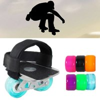 Wholesale drift boards resale online - Professional portable driftboard with foot bandage aggressive feet band drift board Freeline drifting separate skateboard pair