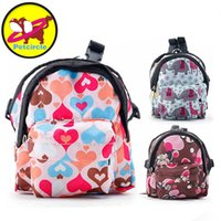 Petcircle Hot Sale Lovely Multicolor Dog Backpack Convenient And Environmentally Friendly Dog Pet Backpack Free Shipping