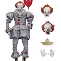Wholesale live videos for sale - Group buy It Action Figures Clown Movies Video Game Cartoon Doll Movable Inch Living Room Arrangement Popular mp F1