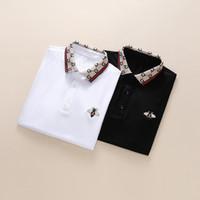 gemischte farbt-shirts großhandel-2019 Sommer Designer Herren Damen Polo Shirts Marke Casual Herren Designer Print T Hochwertige Top Baumwollmischung 11 Farbe M-3XL
