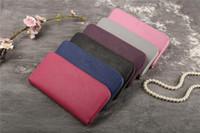 coisas senhoras venda por atacado-Designer de Luxo Das Mulheres Carteira de Bolso Mini Cartões de Bolsas Das Senhoras Bolsas Dinheiro Telefone Bolsa Saco de Material Sacks 6 Cores Com Caixa