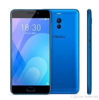 cep telefonu android notları toptan satış-Orijinal Meizu M6 Not 6 3/4 GB 32/64B 4G ağ Snapdragon 625 Sekiz Çekirdekli 5.5 inç Cep Telefonu parmak izi GPS WIFI