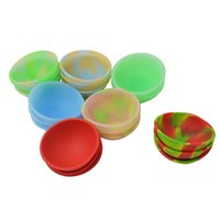 Wholesale bho tools resale online - 20pcs Mini Silicone Pinch Bowl fluorescent soft Flexible dab jars container Dinnerware Set Kitchen Tools for bho wax oil hash T191014