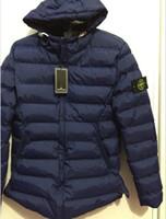 artı boyutu kışlık katlar toptan satış-2019 Erkekler Kış Ceketler Mont Siyah Aşağı Sıcak erkekler Açık Kapşonlu Kürk Erkek Kalın Faux Kürk İç Parkas Artı Boyutu S-3XL