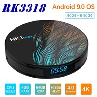 Wholesale HK1MAX Network TV Box RK3318 TV BOX Voice Player Android X88PRO H96MAX