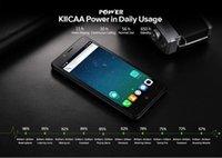 leagoo phone al por mayor-Leagoo Kiicaa Power MT6580A Quad Core Dual Cam posterior 7.0 Teléfono móvil 2GB RAM 16GB ROM Huella digital Smartphone