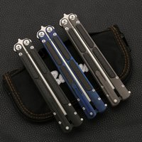 kelebek bıçak kulpları toptan satış-Kelebek titanyum alaşımlı kolu karbon fiber S35VN high-end SWING tutucu 59HRC BM40 BM41 BM42 BM43 BM46 BM940 781 3310 C81 KITAP BıÇAK