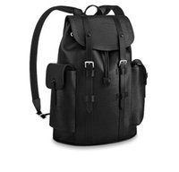 Wholesale two tone weave styles online - M50159 Christopher Backpack MEN FASHION BACKPACKS BUSINESS BAGS TOTE MESSENGER BAGS SOFTSIDED LUGGAGE ROLLING BAG