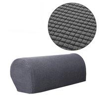 poltrona de móveis venda por atacado-1 Par de Tecido Elástico Jacquard Stretch Cobertor Spandex Covers Anti-Slip Protetor de Móveis Sofá Poltrona Slipcovers para Sofá Reclinável