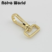 Wholesale snap hook buckle resale online - colors accept mix color mm inch metal snap hook handbag lobster buckle swivel clasp hook hardware