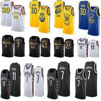 Wholesale basketball jerseys 11 resale online - 2020 Ncaa Irving Jersey Kevin Durant Stephen Curry Kyle Lowry Pascal Siakam fred vanvleet Mens College Basketball jerseys