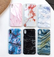 Wholesale protector images online – custom Phone Cases for iPhone s Plus Case Marble Stone Image Painted Cover Mobile Phone Bags Case for iPhone Plus Protector