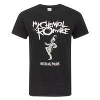 desfile negro al por mayor-My Chemical Romance Mens The Black Parade camiseta (NS4385)