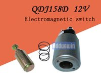 Wholesale teeth motor for sale - Group buy Single cylinder diesel starter QDJ158D12V12 tooth tractor agricultural vehicle electric start motor wheel accessories T0296