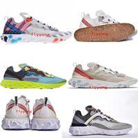 4c878795ed7e Epic React Element 87 Undercover Men Running Shoes For Women Designer  Sneakers Sports Mens Trainer Shoes Sail Light Bone