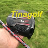 grafit şaft milleri toptan satış-Yeni golf sürücü G410 ARTı sürücü 9 veya 10.5 derece ALTA JCB Grafit ile sert şaft başörtüsü anahtarı golf kulüpleri
