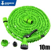Wholesale watering hose free shipping for sale - 10M Car wash water hose multiple color car washing black green scalable