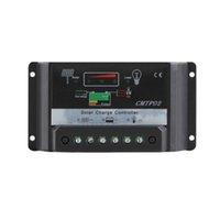 regulador solar del cargador 12v al por mayor-Freeshipping 30A PWM Cargador de protección del panel solar Regulador del regulador de carga 12V / 24V DC