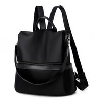 Wholesale ladies rucksack handbags for sale - Group buy Fashion Women Ladies Fashion Mixedcolor Waterproof Handbag Tote Shoulder Backpack Bags Leisure Shopping Rucksack School Bags