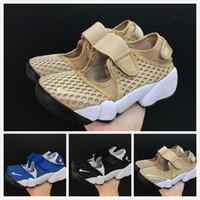 sandales bleu enfant achat en gros de-2019 hot new haute qualité garçons filles juvénile étudiant enfant AIR RIFT chaussures enfants Ninja chaussures bleu noir sports de plein air sandales taille 25-35